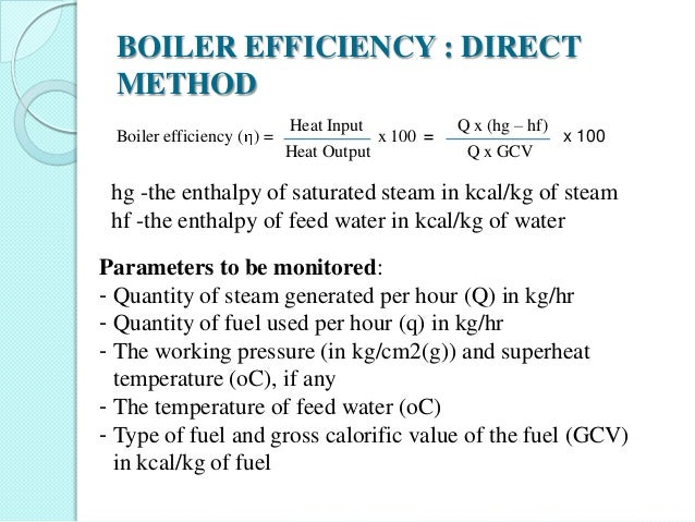 Performance assessment of boilers,steam system,insulation & refractor…