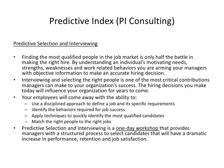 Performance Based Hiring Ppt