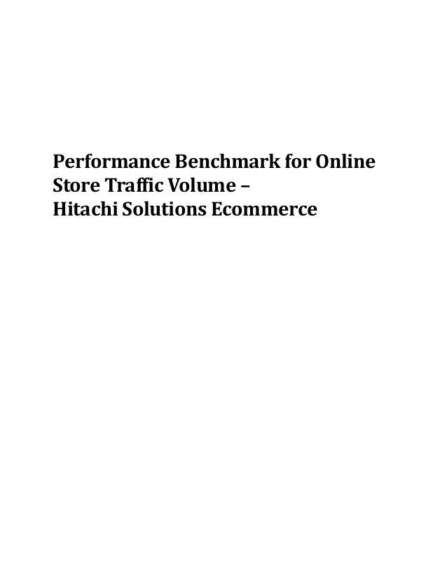 Performance Benchmark for Online Store Traffic Volume – Hitachi Solutions Ecommerce