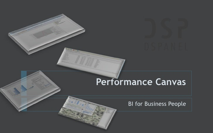 Performance Canvas BI for Business People