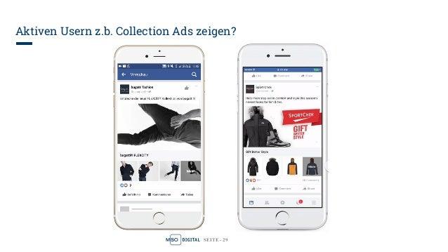 SEITE - 29 Aktiven Usern z.b. Collection Ads zeigen?