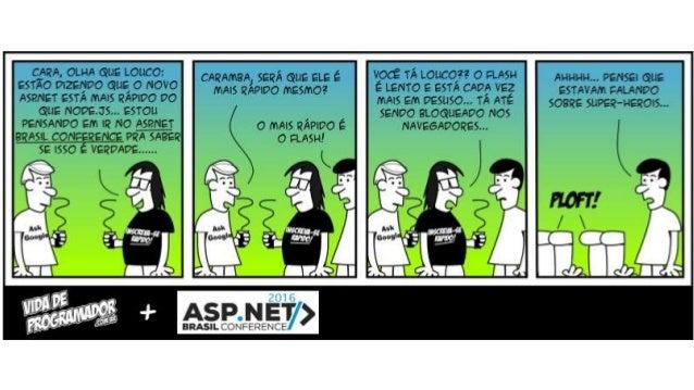 Performance do ASP.NET Core, um comparativo com Node.js Slide 3