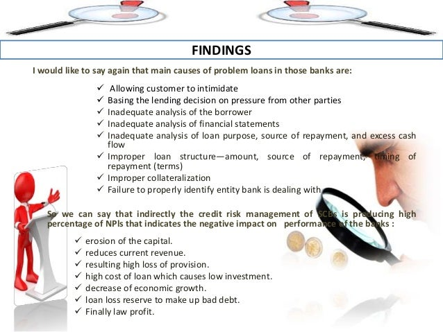 Risk Management in Commercial Banks (A Case Study of ...
