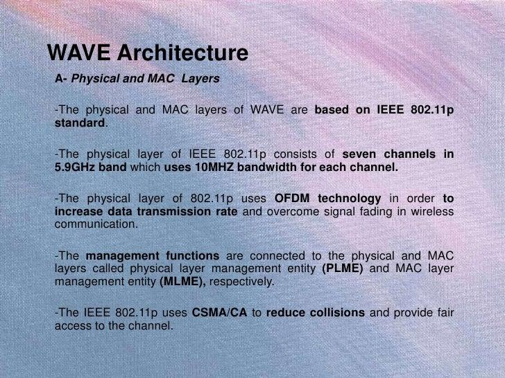 ... model by vanetmobisim 13 wave architecture wave architecture