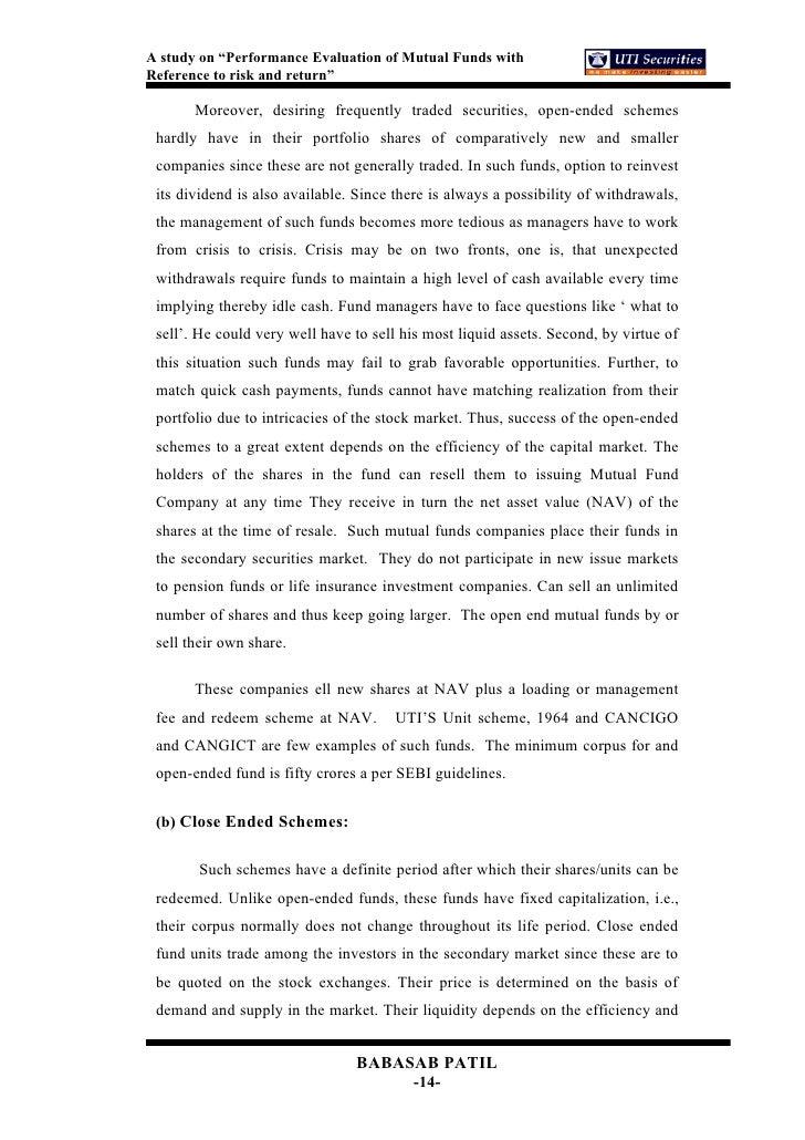 uti mutual fund schemes pdf