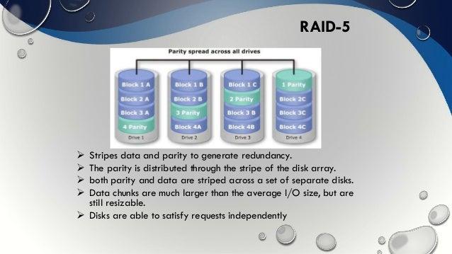 Performance Evolution Of Raid