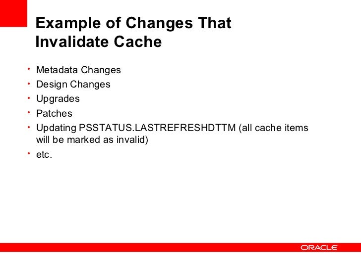 Invalidating cached metadata for vgpmx