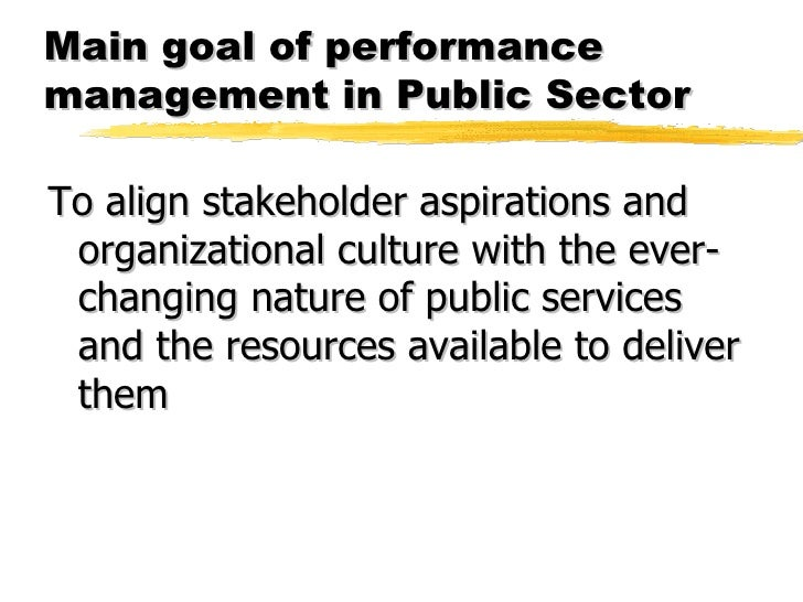 performance management in the public sector Performance management in the public sector | 3 at a glance the australian public service (aps) has recognised for many years that it has been unable to fully realise.