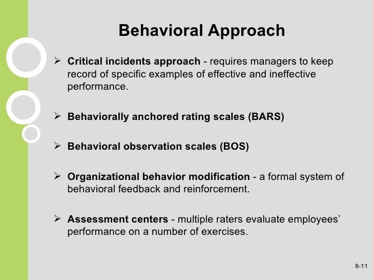 cognitive term of behaviour