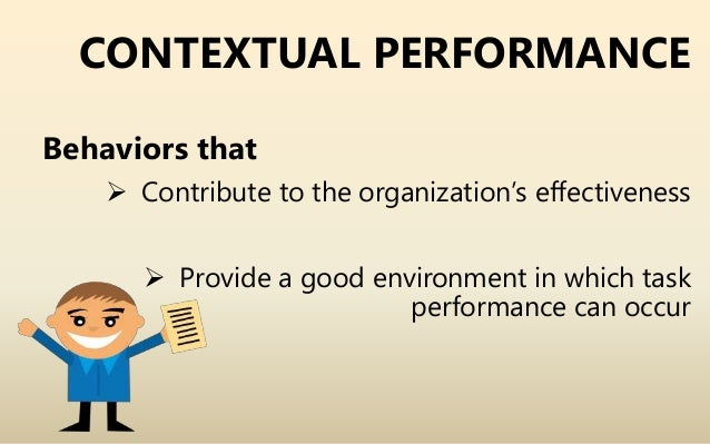 task performance and contextual performance pdf
