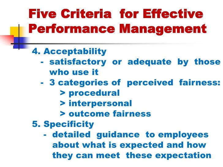 effective performance management essay Why it is important for each employee to understand his or her role in the performance management business essay performance in most effective.