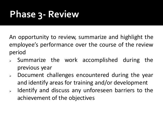 Identify barriers and guidelines for effective performance appraisals