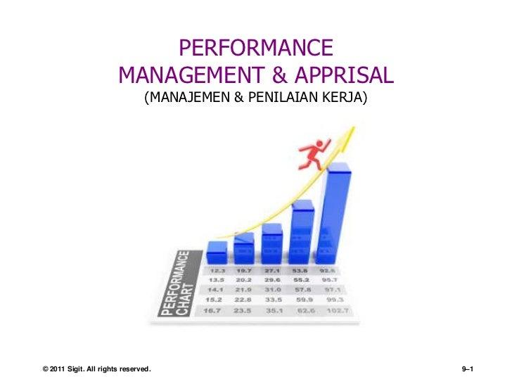 PERFORMANCE                       MANAGEMENT & APPRISAL                                (MANAJEMEN & PENILAIAN KERJA)© 2011...
