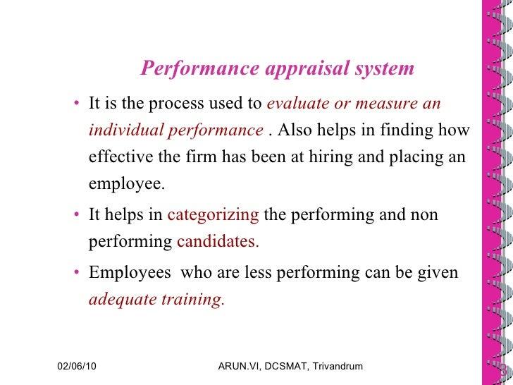 Performance Management System Amp Performance Appraisal