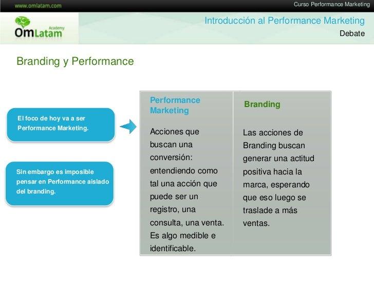 Performance Marketing 2012 - Marketing Online Mendoza Slide 3