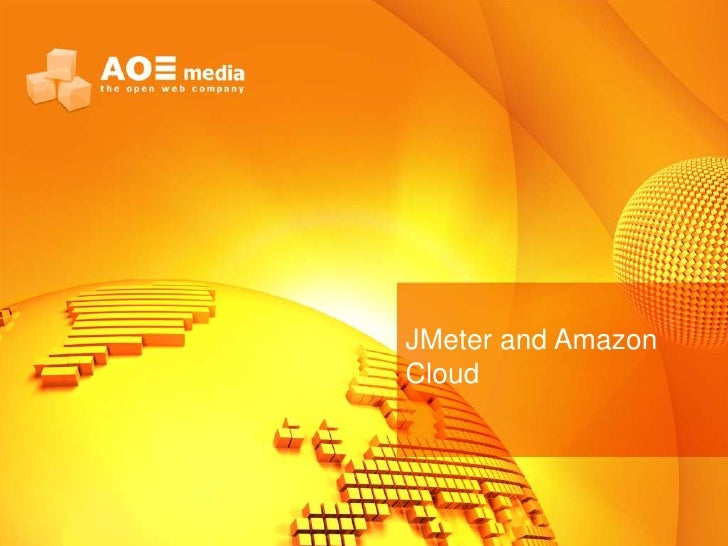 JMeter and AmazonCloud