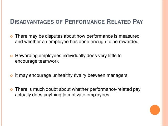 compensation and the pay for performance myth Despite another myth that good benefits makes up for low compensation,  generous  many state associations of nonprofits collect salary and benefit  information via  of an employee's extra-efforts or exceptional performance - not  automatic.