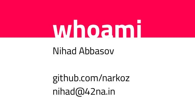 Performance Optimization 101 for Ruby developers - Nihad Abbasov (ENG) | Ruby Meditation 27 Slide 2