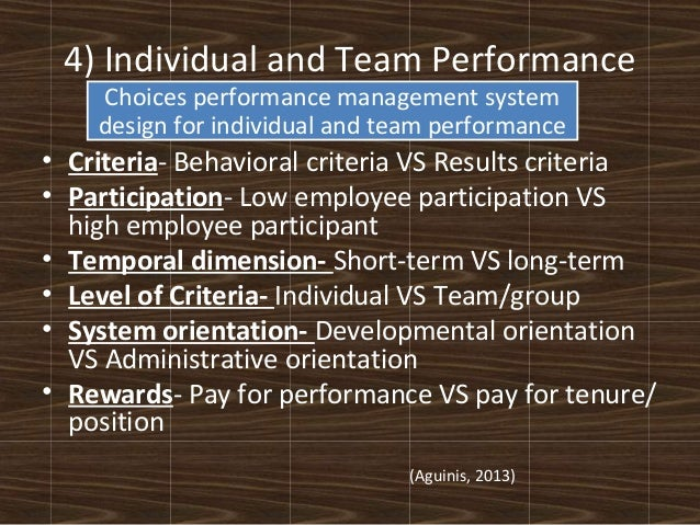 the key role of motivating employees in the development of high performance individuals Performance development planning & individual development through performance management the key result areas are jointly role requirements, performance.