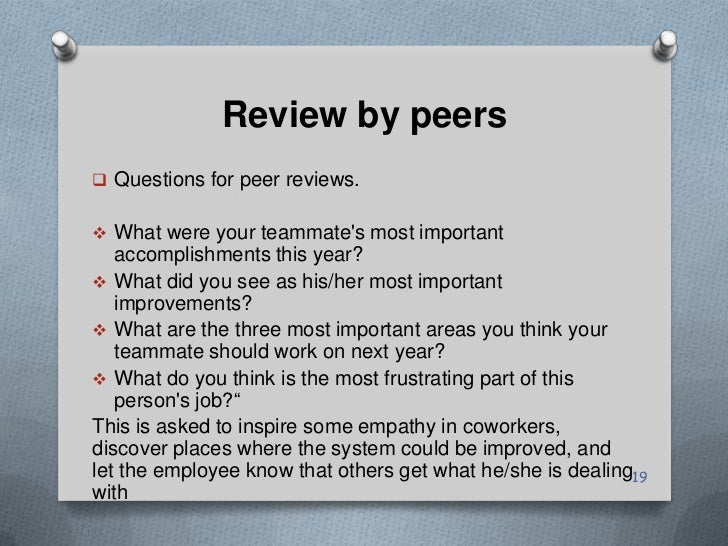 how can you get better help from peer reviews