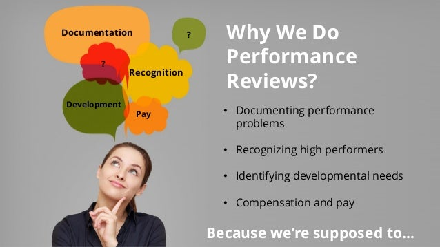 Performance Reviews  How To Really Make Them About Performance  Web