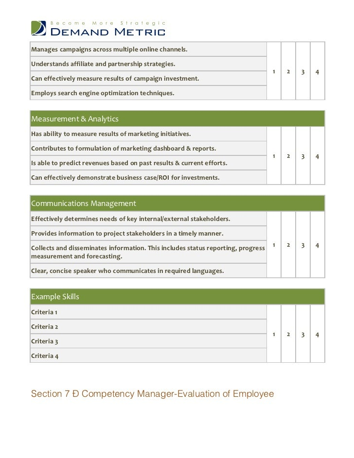 Employee Performance Review Template Pdf  BesikEightyCo