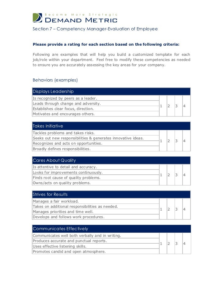 template for performance review - Romeo.landinez.co