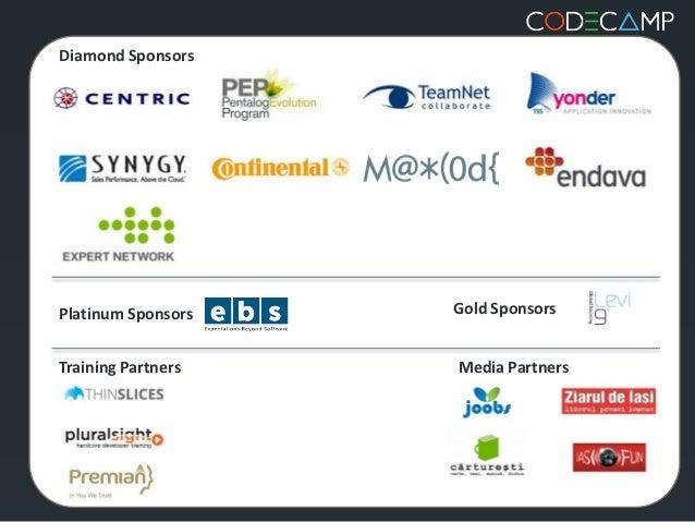 Diamond SponsorsPlatinum Sponsors   Gold SponsorsTraining Partners   Media Partners