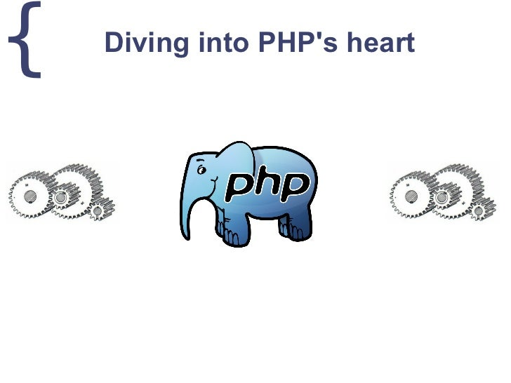 {   Diving into PHPs heart