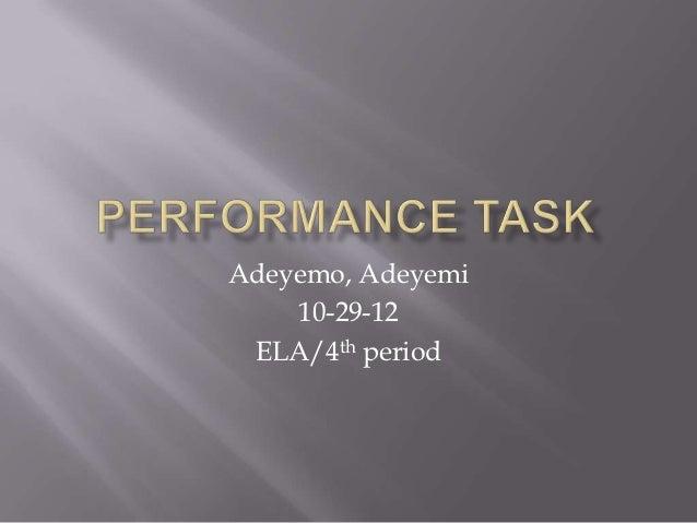 Adeyemo, Adeyemi    10-29-12 ELA/4th period
