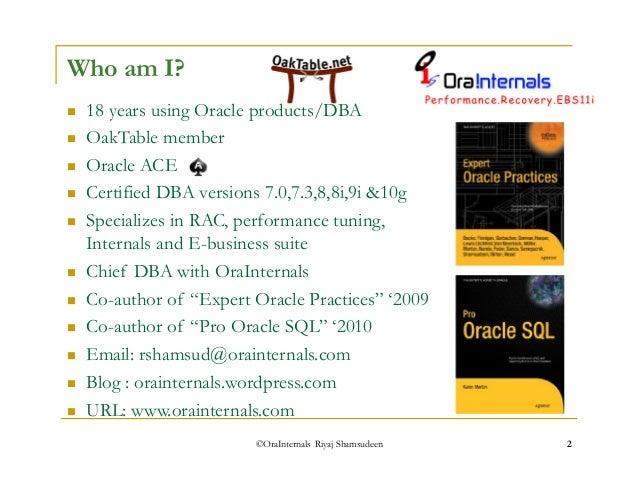 rac performance tuning