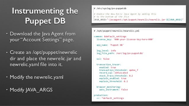 Performance Tuning Your Puppet Infrastructure - PuppetConf 2014