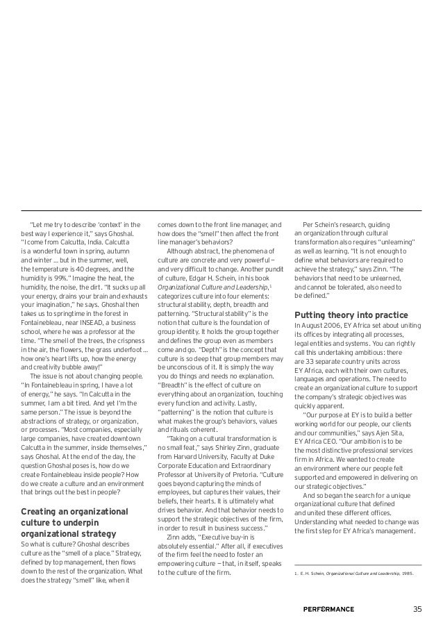 EY Performance Journal - Volume 5, Issue 4