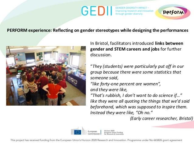 Workshop 95 Addressing Students >> Spne12 Workshop How To Address Gender Stereotypes In Science Educ
