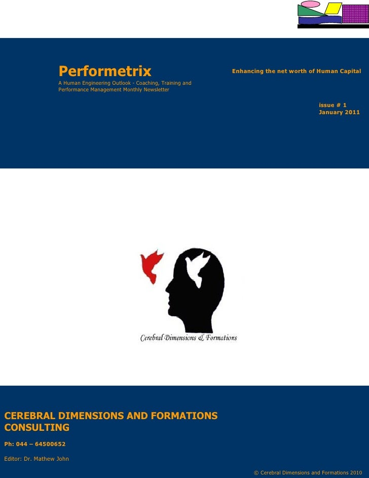 Performetrix                                           Enhancing the net worth of Human Capital                   A Human ...