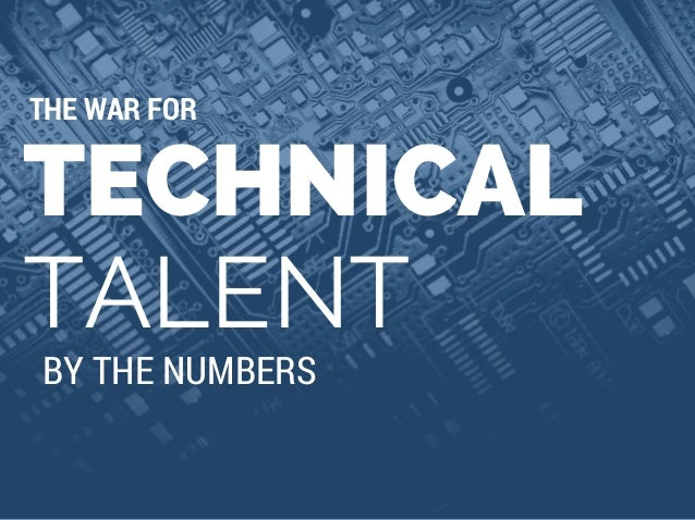 The War for Technical Talent: IT Job Market by the Numbers