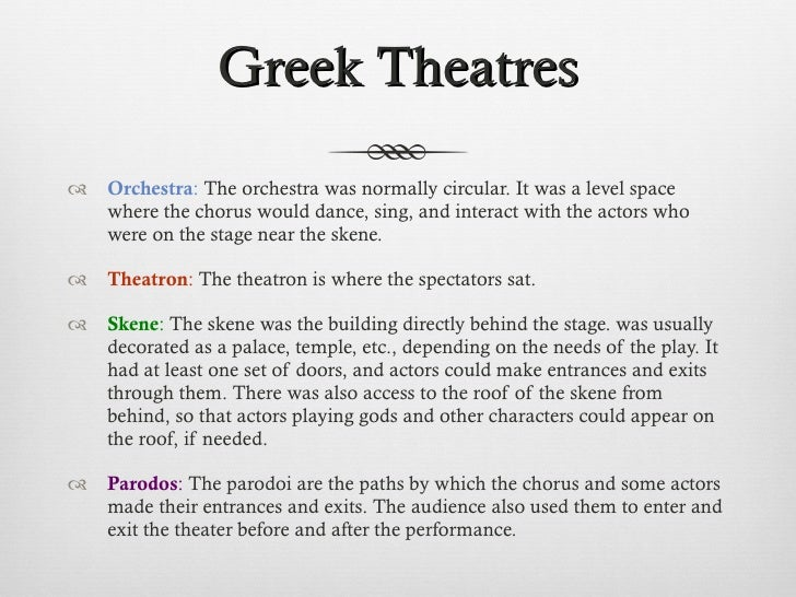 The Function of Chorus in Greek Drama