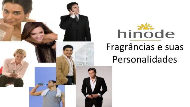Fragrâncias e suas  Personalidades