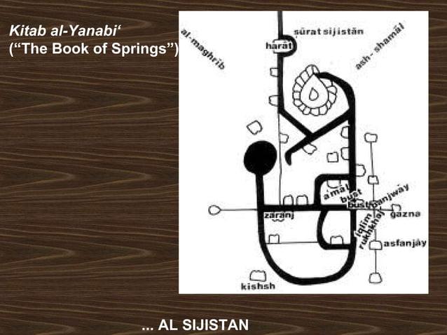 "Kitab al-Yanabi'  (""The Book of Springs"")  ... AL SIJISTAN"