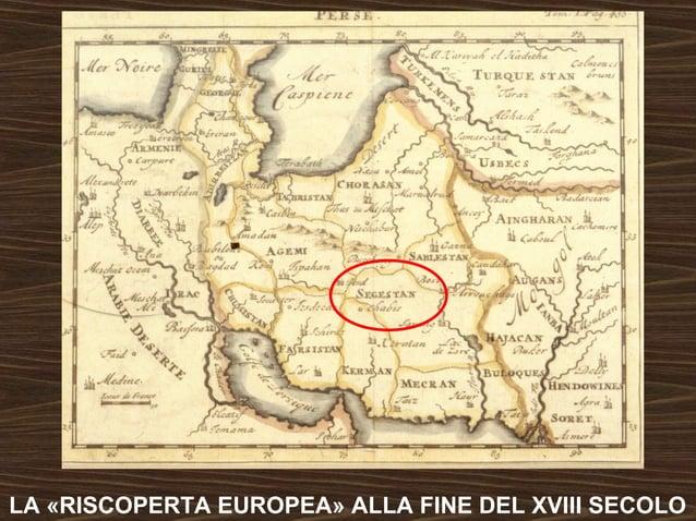 LA «RISCOPERTA EUROPEA» ALLA FINE DEL XVIII SECOLO