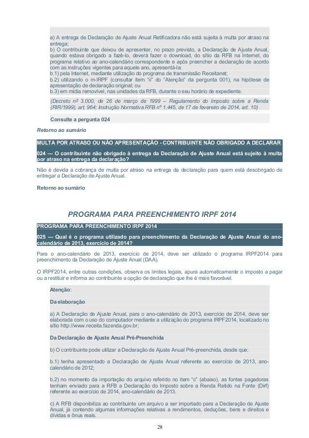 manual de perguntas e respostas irpf 2014 rh pt slideshare net NDT Conferences
