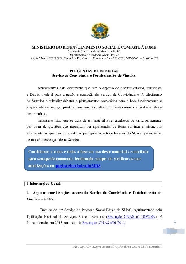 6bf3255ab4e Acompanhe sempre as atualizações deste material de consulta. 1 MINISTÉRIO  DO DESENVOLVIMENTO SOCIAL E COMBATE ...