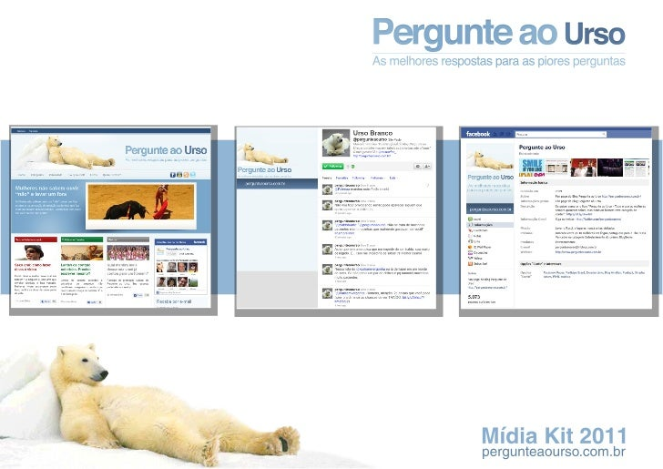 Pergunte ao Urso - Media Kit 2011