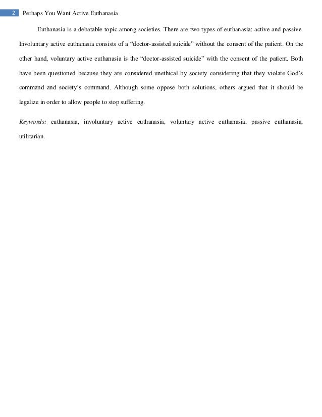 essays on euthanasia co essays on euthanasia