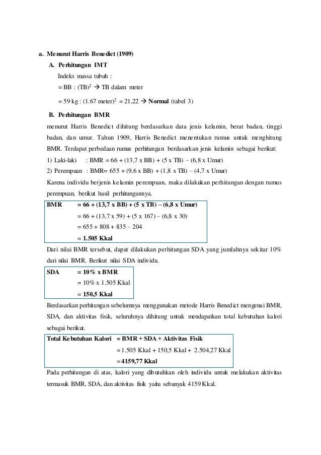 Cara Menghitung Indeks Massa Tubuh (Body Mass Index)