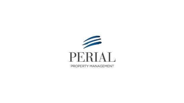 |2015 Présentation de PERIAL Property Management