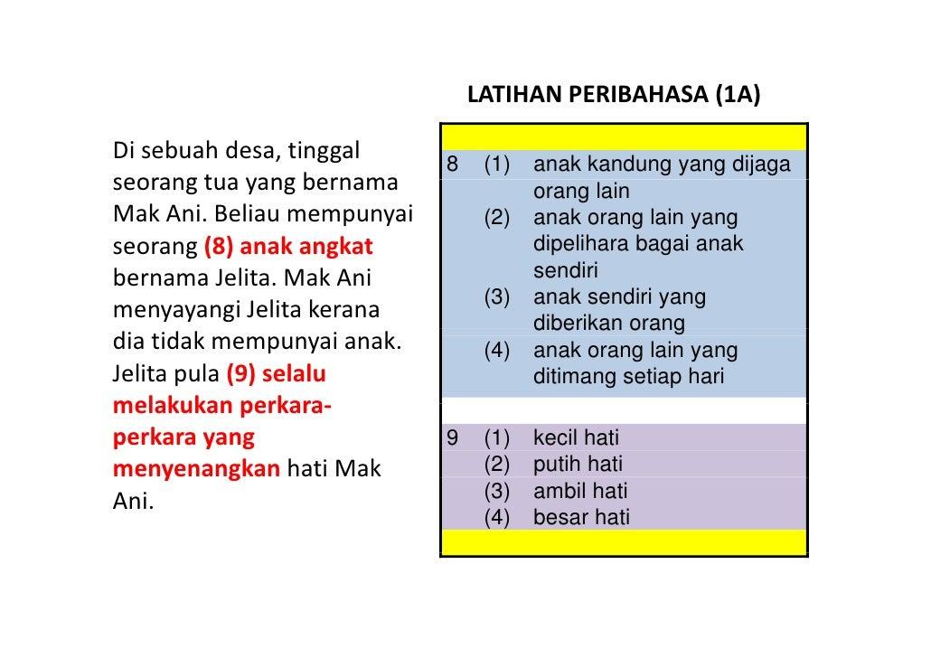 LATIHANPERIBAHASA(1A)                                                     ( )  Disebuahdesa,tinggal     8    (1)   a...