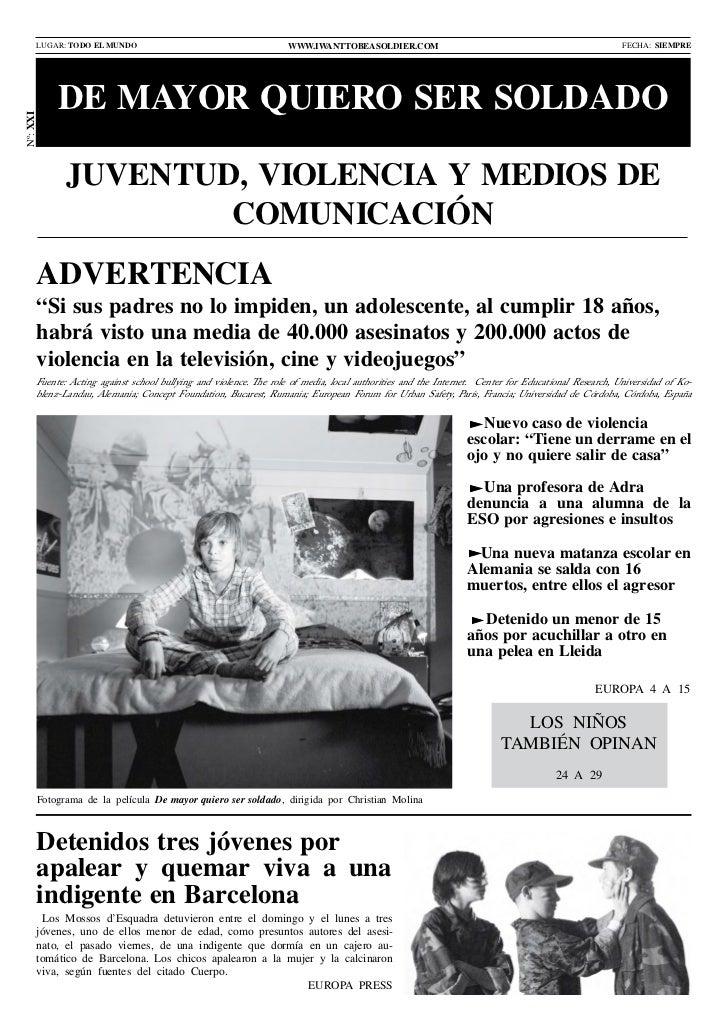 LUGAR: TODO EL MUNDO                                        www.iwanttobeasoldier.com                                     ...