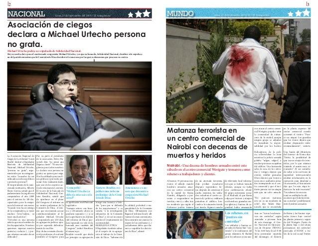 l2  l3  NACIONAL  MUNDO  Lima,23 de Septiembre del 2013// El Antagonista  Lima, 23 de Septiembre del 2013// El Antagonista...