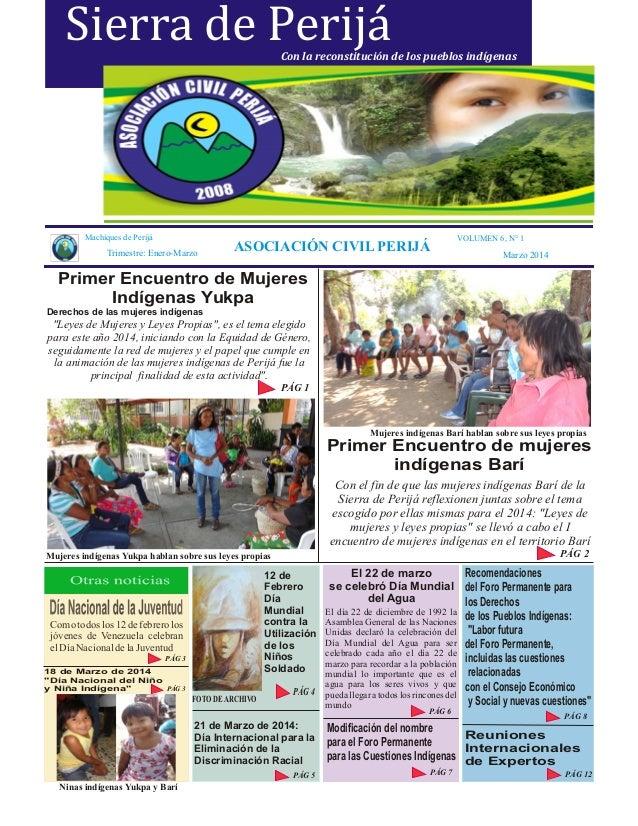 Periódico institucional primer trimestre 2014